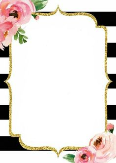 Inviracuon flores Invitation Background, Invitation Cards, Party Invitations, Invites, Cute Wallpapers, Wallpaper Backgrounds, Kate Spade Party, Diy And Crafts, Paper Crafts