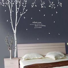 træ dekoration wall stickers - DKK kr. 212