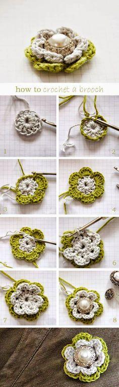 tutorial de bisuteria crochet