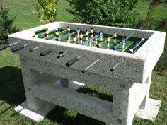 Concrete Football Table