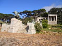 Rhodes Memorial on Devil's Peak in Cape Town, South Africa, is a memorial to English-born South African politician Cecil John Rhodes designed by Sir Herbert Baker.