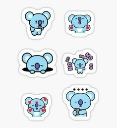 Bts stickers featuring millions of original designs created by independent artists. Kpop Stickers, Tumblr Stickers, Printable Stickers, Cute Stickers, Cute Kawaii Drawings, Drawing Games, Line Friends, Bts Chibi, Aesthetic Stickers