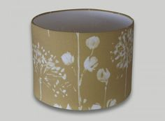 Windsor Yellow Floral Drum Lampshade
