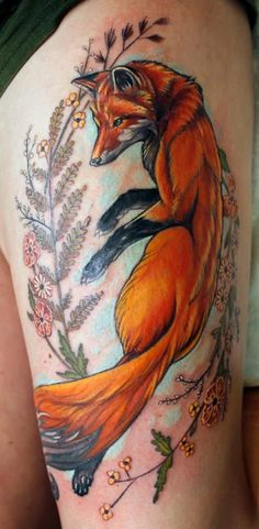 Who let the fox amongst the chickens? Check out 45 of the coolest fox tattoos around.