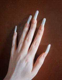 Natural Nails, Girly, Fashion, Finger Nails, Make Up, Long Fingernails, Women's, Moda, Girly Girl