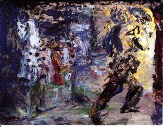 Jack Butler Yeats (Irish, A Cavalier's Farewell to his Steed, Oil on board, 36 x 46 cm. Irish Painters, Jack B, William Butler Yeats, Irish Art, Cavalier, Contemporary Artists, Impressionist, Samuel Beckett, Sculpture Art