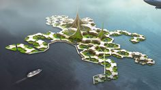 Silicon Valley Is Letting Go of Its Techie Island Fantasies Floating Architecture, Green Architecture, Futuristic Architecture, Fantasy Wire, Floating House, Floating Island, Floating Cities, Eco Buildings, Underwater City