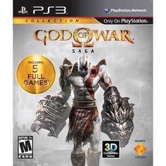 Sony Playstation Sony God Of War Saga Collection