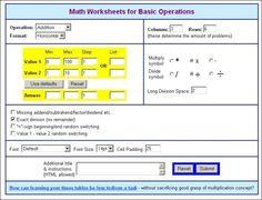 Online Puzzle Generators Maths Resources, Math Worksheets, Math Activities, Long Division, Generators, Numeracy, School Days, Puzzle, Education