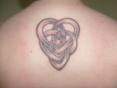I want this tat with 2 dots to go with it. One dot for each of my kids. It's a motherhood knot.