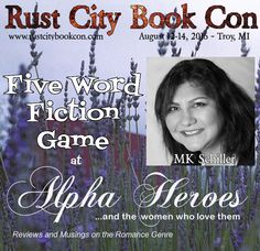 #‎RustCity16‬ author @MKSchiller continues the contemporary flash fiction, CURVE AND HOOK, at Alpha Heroes Book Blog