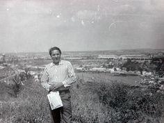 THE USSR. Journalist Vitaly Stupak in Sochi on vacation.