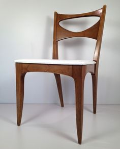 $49 EBAY Vintage Mid Century Modern Drexel Profile Dining Chair   Danish  Retro Eames Era |
