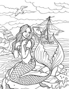 Colorit Coloring Books - √ 32 Colorit Coloring Books , 10 Free Christmas Sample Drawings Limit One Free Offer Coloring Pages For Grown Ups, Free Adult Coloring Pages, Coloring Book Pages, Kids Coloring, Free Coloring, Coloring Sheets, Mermaid Drawings, Mermaid Art, Art Drawings