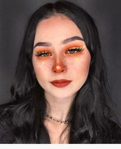 30 Festival&Party Make-Up Ideas Taking Your Look from Alright to All Nights - Makeup Looks Celebrity Cute Makeup, Glam Makeup, Skin Makeup, Makeup Inspo, Eyeshadow Makeup, Makeup Art, Makeup Inspiration, Beauty Makeup, Eyeshadow Palette