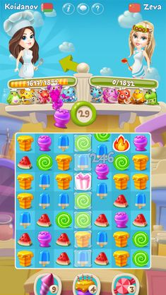 Characters and minions made by Ilya Baidakov and other members of team. Match 3 Games, Coin Master Hack, Game Ui Design, Game Props, Cooking For Two, Mobile Game, Game Art, Minions, Behance