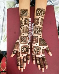 Here you will get the latest and beautiful collections of Mehndi designs for your marriage and engagement occasion. Find and get ideas for your wedding. Henna Hand Designs, Mehandi Designs, Mehndi Designs Finger, Indian Mehndi Designs, Mehndi Designs 2018, Stylish Mehndi Designs, Mehndi Designs For Fingers, Wedding Mehndi Designs, Mehndi Design Pictures