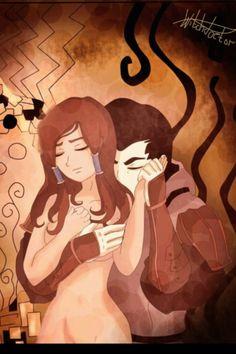Amorra: Amon and Korra.