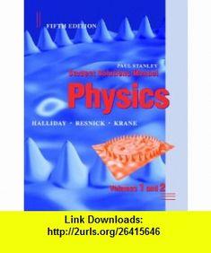 Physics volume 1 9780471320579 david halliday robert resnick student solutions manual to accompany physics 5th edition 9780471398295 david halliday robert fandeluxe Images