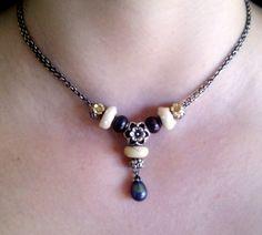 Zucchini on Fantasy Necklace <3