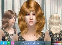 NewSea: YU192 Patina donation hairstyle • Sims 4 Downloads