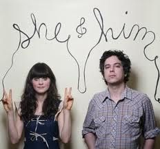 Zooey Deschanel and M. Ward. She & Him. Got all of their albums.