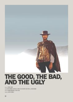 Apr 2020 - Minimal Movie Posters: Photo - The Good, the Bad, and the Ugly Minimal Movie Poster - Iconic Movie Posters, Minimal Movie Posters, Minimal Poster, Movie Poster Art, Iconic Movies, Film Posters, Good Movies, Beau Film, Film Poster Design