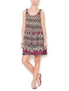 Lace Up Cotton Dress by Ondade Mar at Gilt