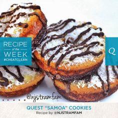 "Quest ""Samoa"" Cookies"