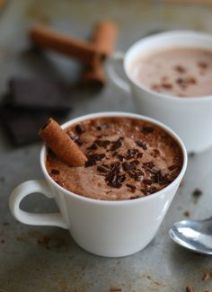 Punkin hot chocolate (no sugar added) - Varm choklad med pumpa (utan tillsatt socker)  //Baka Sockerfritt