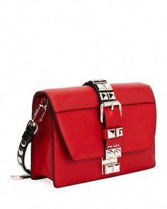 5a43fcad757f Prada Elektra City Calf Saffiano Leather Shoulder Bag  Chanelhandbags