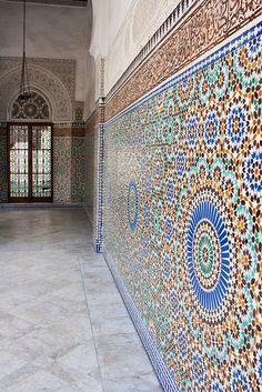 Mosque - Islam Mosiac Art - Paris, France
