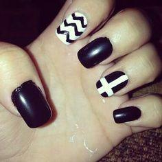 Diseño en negro y blanco