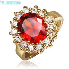 Кольцо для помолвки Other QualityNickle R393 AntiallergicNew 18 k PlatedRing R391 R392 R393 R394 R395 R396