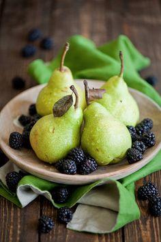 Pears & Blackberries