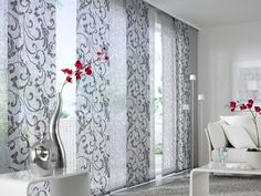 Panel blinds and curtains as well as information and materials for fastening, please contact our department for areas and sliding curtains Sliding Curtains, Sliding Panels, Door Curtains, Curtains With Blinds, Curtain Panels, Valances, Modern Curtains, Curtain Designs, Sliding Glass Door