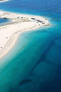 Plage de Kalligoni, Grèce #plage #location #vacances