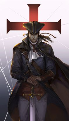 Haytham Kenway one of the only Templars that is pretty freaking cool