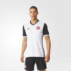 adidas - Camiseta de Dinamarca Away Euro
