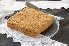 Фото торта из печенья и сметаны без выпечки