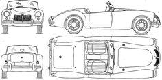 MG MGA roadster