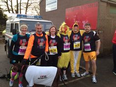 Our BHWT team running the Plympton 10k run earlier this year... Mad lot!