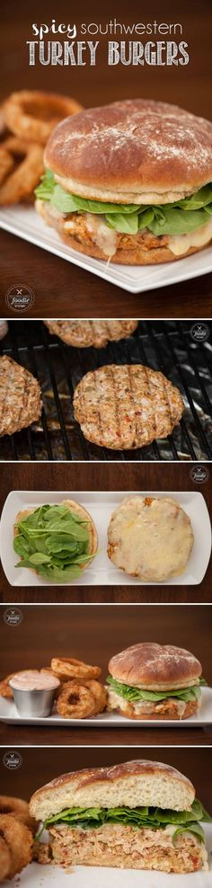 Spicy Southwestern Turkey Burgers | Self Proclaimed Foodie