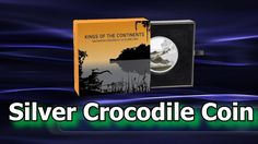 The New Zealand Mint has released, what is expected to be the penultimate instalment in their Kings of the Continents silver coin series. The sixth coin over. Mint Coins, Silver Coins, Continents, Crocodile, New Zealand, King, Movie Posters, Silver Quarters, Film Poster