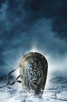 The Ice King (Twilight of the Celts Book III) by M.K. Hume. Cover art ©Larry Rostant
