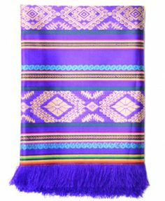 Makeover the basement chairs with Ecuadorian tablecloths White Christmas, Christmas Gifts, Piece Of Me, Puzzle Pieces, Purple Yellow, Ecuador, Blanket, Tablecloths, Mauve