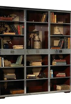 Rich in medieval character, the Ferault Bookcase is an alluring piece perfect for your den or office.