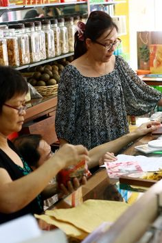Cheng Woh Medical Hall – a Chinese herbal shop located in the UNESCO World Heritage site of George Town in Penang.  Image courtesy of Cheng Woh