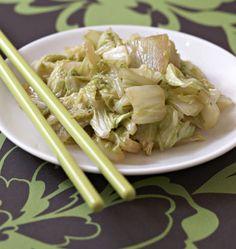 Chou chinois sauté au gingembre, la recette d'Ôdélices : retrouvez les ingrédients, la préparation, des recettes similaires et des photos qui donnent envie !