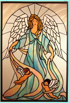 Google Image Result for http://www.stainedglassinnovation.com/images/Stained%2520Glass%2520Angel%2520and%2520cherubs%2520big.jpg